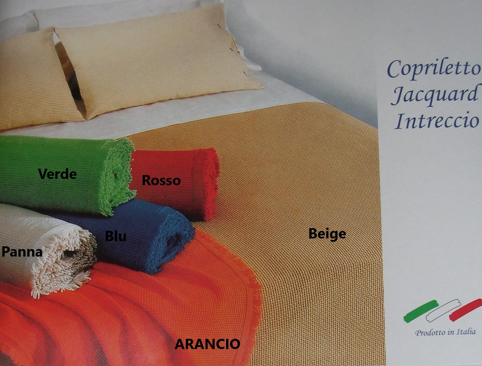 Copriletto Jacquard Intreccio
