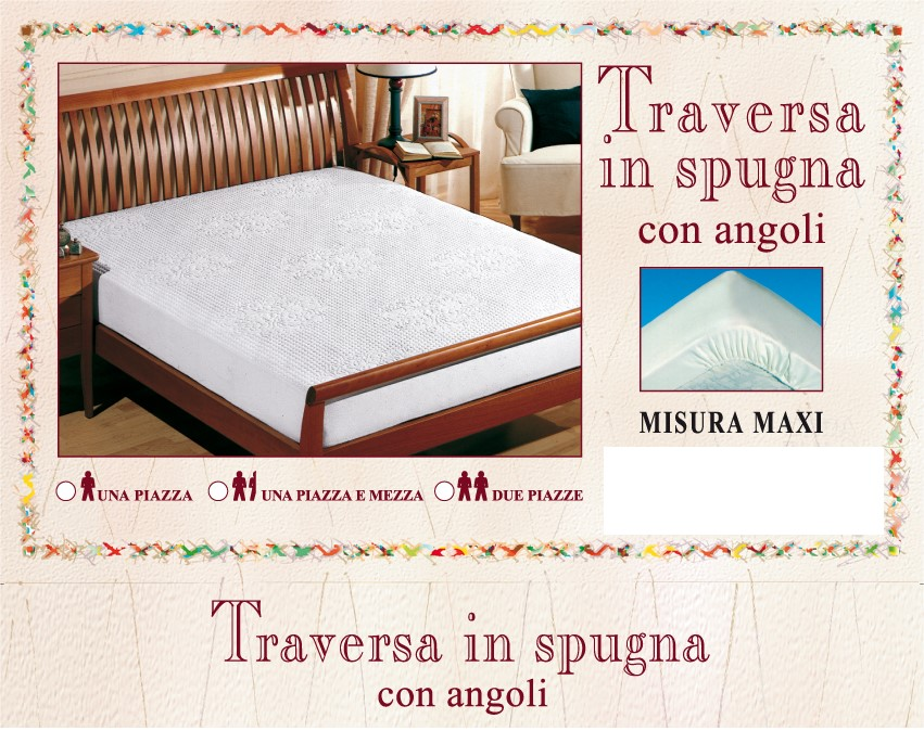 Traversa in Spugna Jacquard
