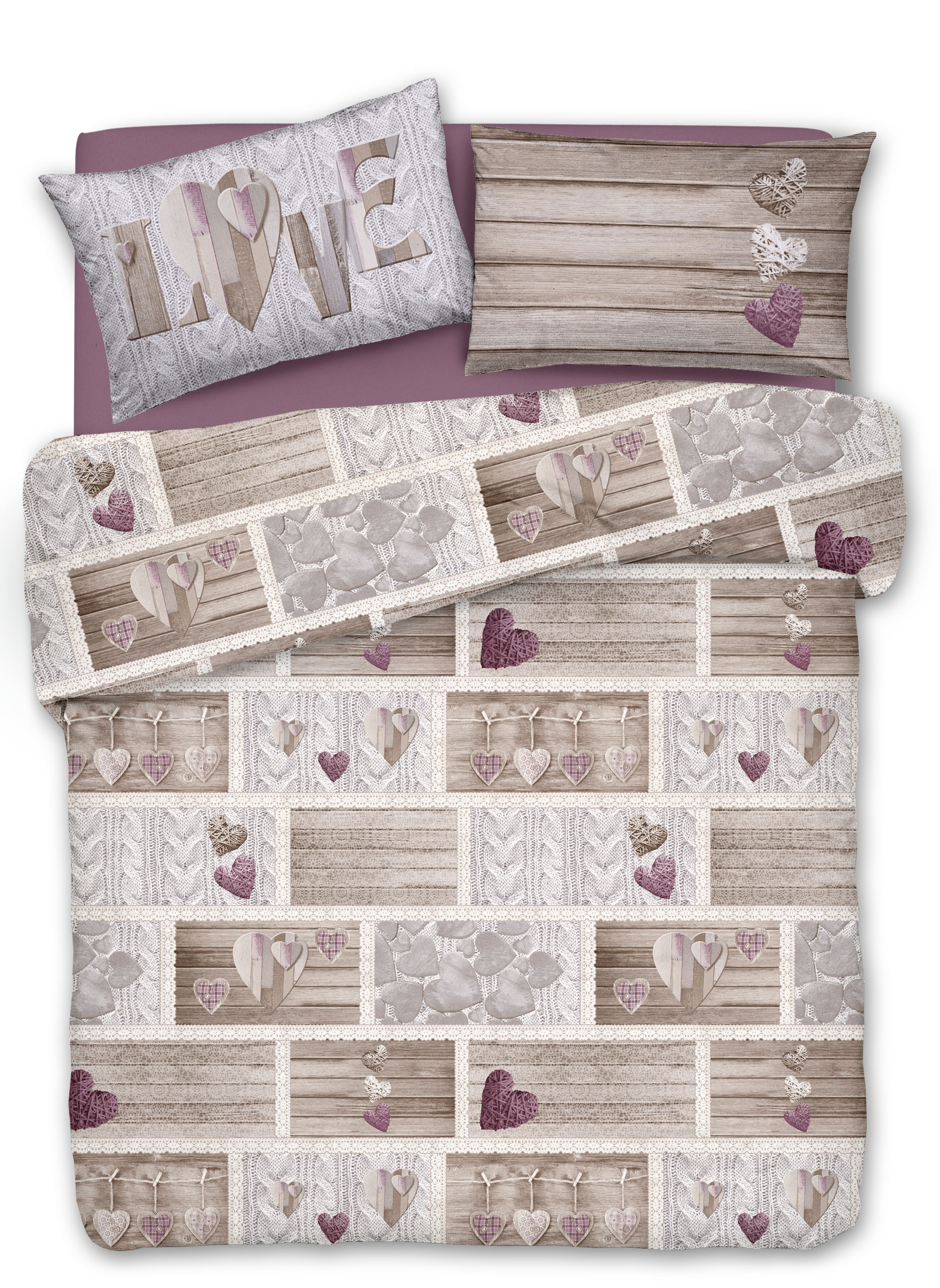 Copripiumino Shabby in love