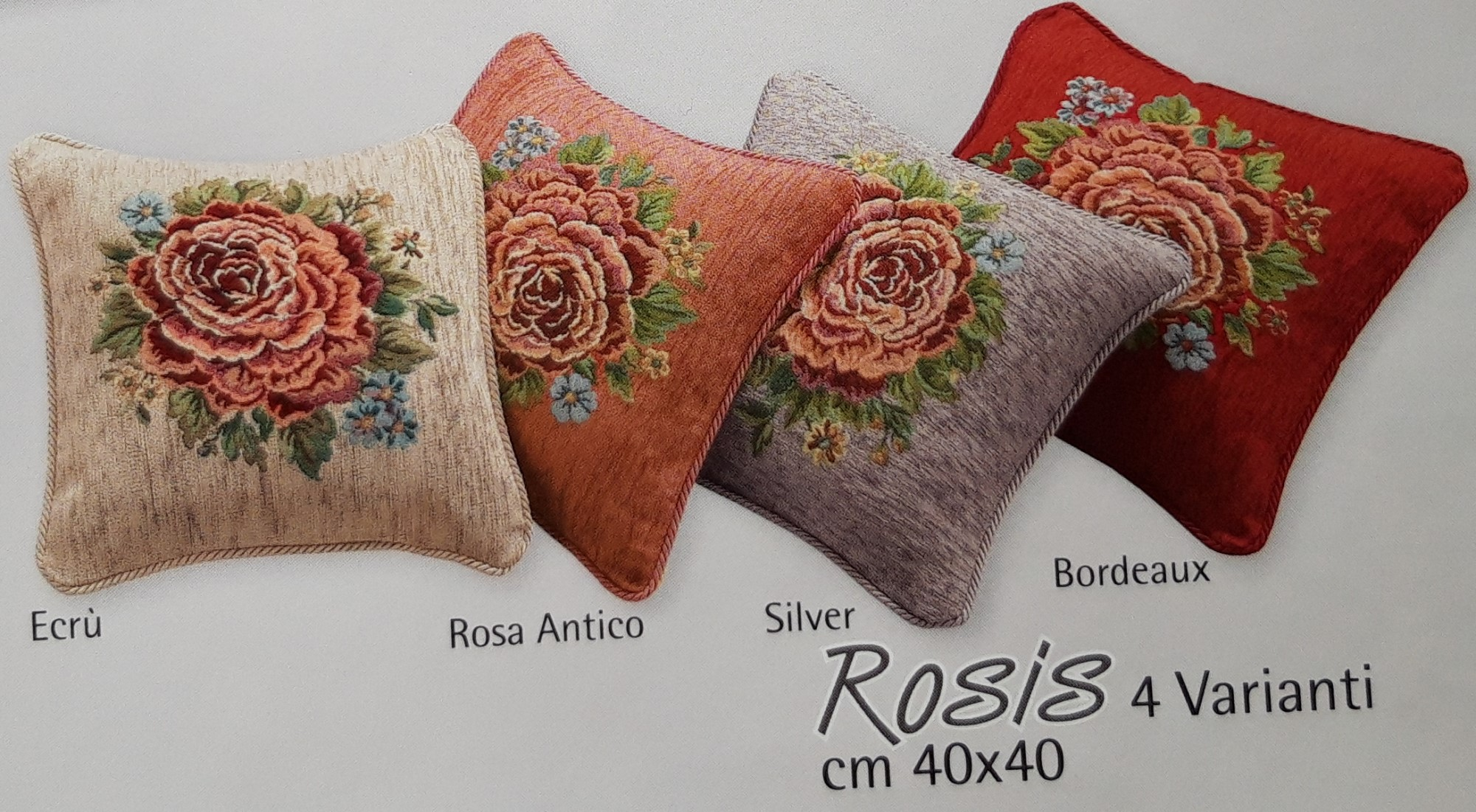 Fodera Cuscino Arredo Rosis