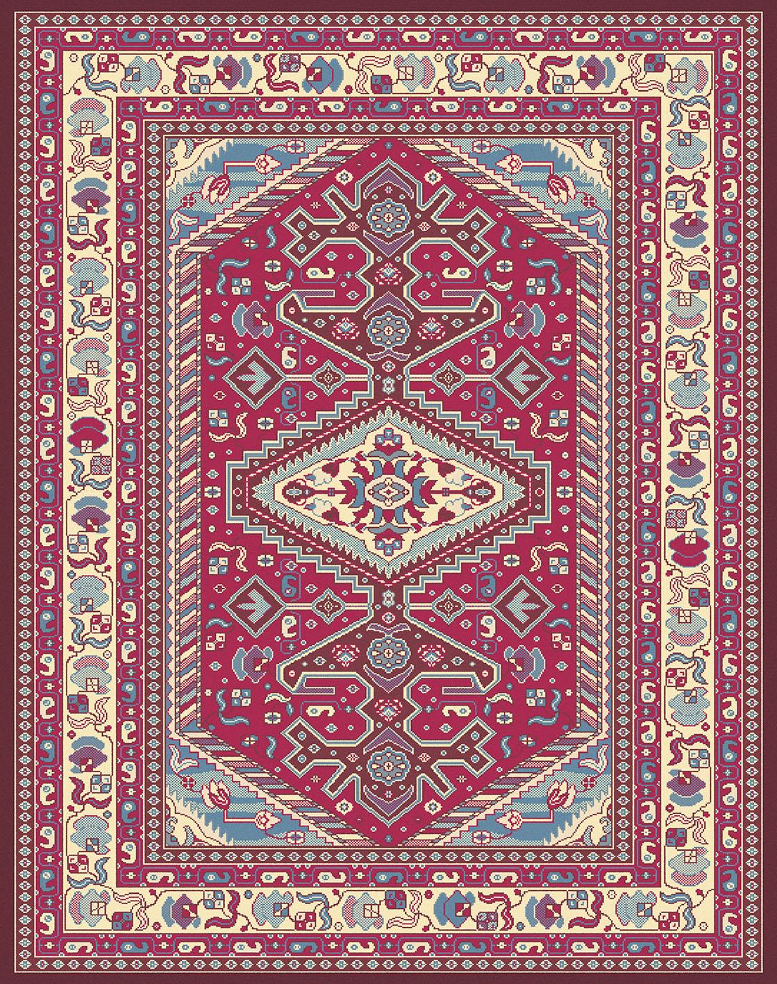 Tappeto Persia Antiscivolo