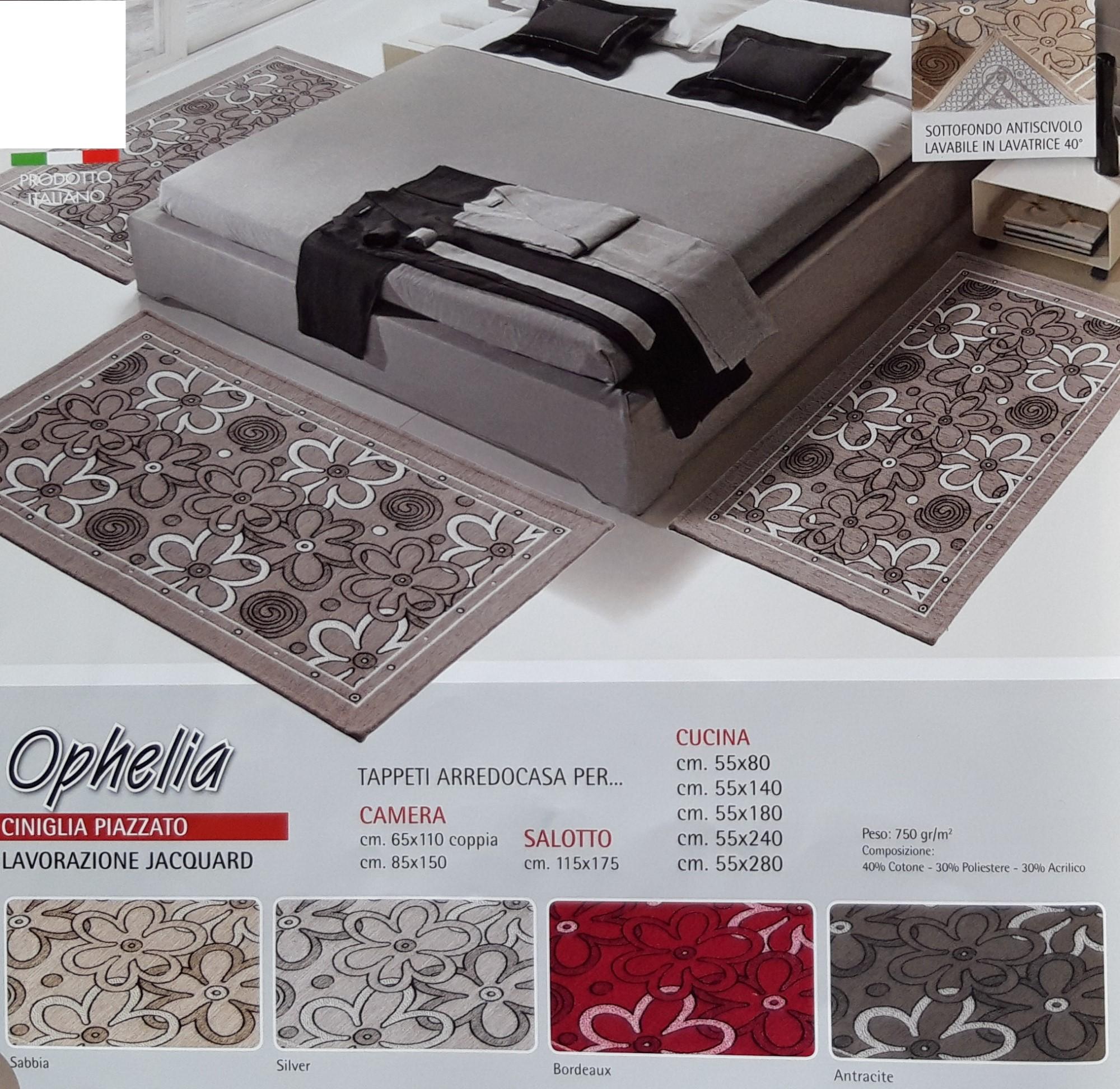 Tappeto Ophelia Ciniglia Antiscivolo