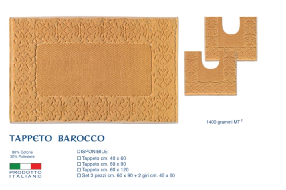 Tappeto Bagno Barocco