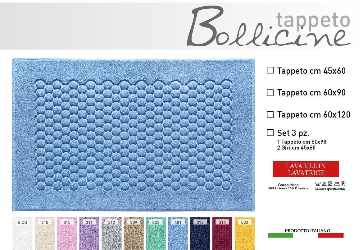 Tappeto Bagno Bollicine