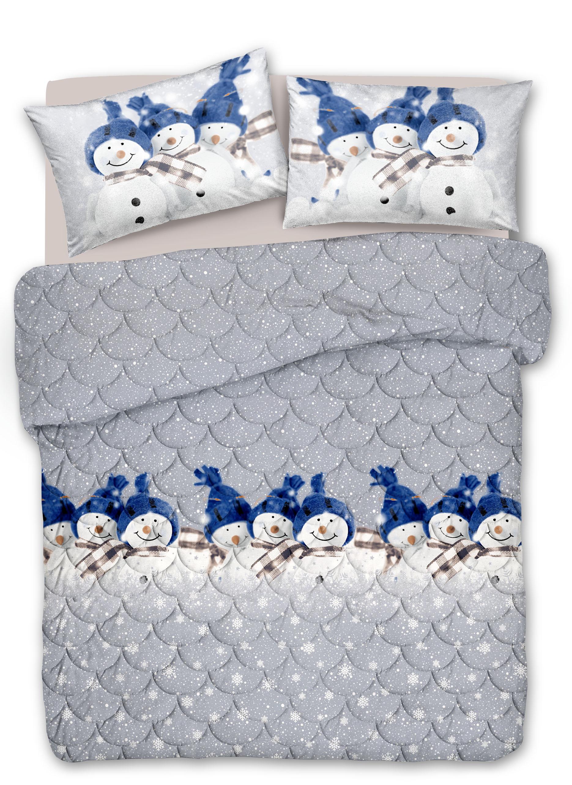 Trapuntino Leggero Cotone Pupazzo di neve
