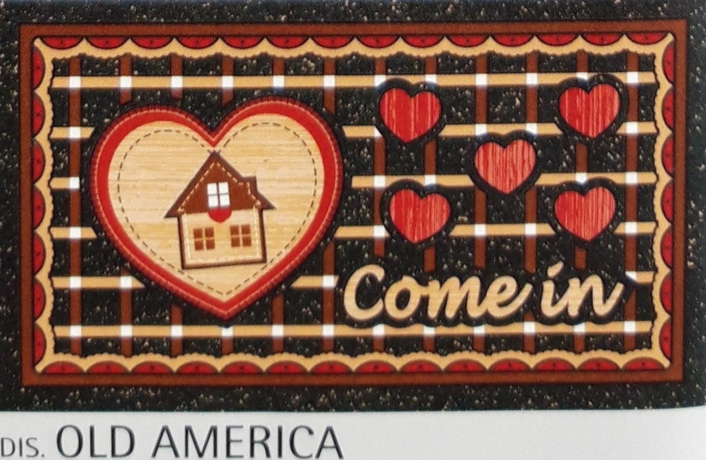Zerbino Antiscivolo Old America
